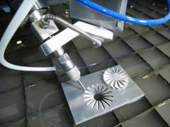 water jet cutting head