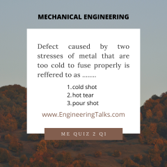 Mechanical Engineering Concept Quiz 2